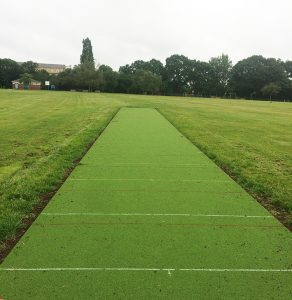 The new cricket square added in June 2019