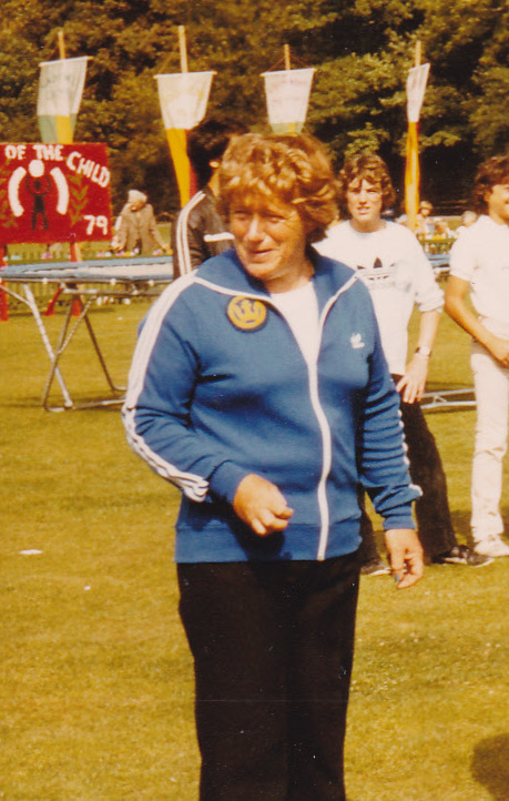 Mary Bennett - organiser of years of sporting events